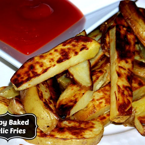 Garlicky Baked French Fried Potatoes