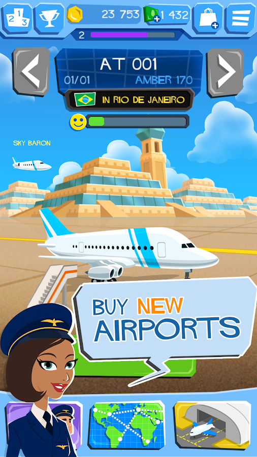 Airline Tycoon - Free Flight Screenshot 5
