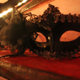 the Mask by Redski Pictures - Artistic Objects Clothing & Accessories ( red, artisic, mask, object, light, black )