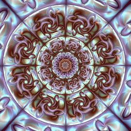 by Cassy 67 - Illustration Abstract & Patterns ( abstract, pattern, swirl, art, wallpaper, digital art, circle, fractal, digital, fractals, floral )