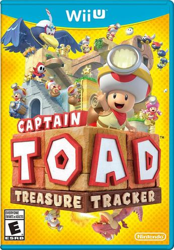 Captain Toad: Treasure Tracker - box art