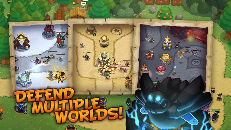 Realm Defense: Hero Legends TD Epic Strategy Game Screenshot 4