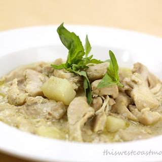 Slow Cooker Thai Green Curry Chicken