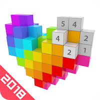 Voxel 2018 - 3D Color by Number & Pixel Coloring For PC