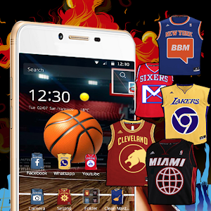 jersey basketball of nba team for Android