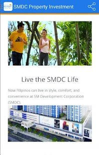 SMDC Property Investment App - screenshot