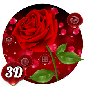 3D Rose Launcher For PC / Windows 7/8/10 / Mac – Free Download