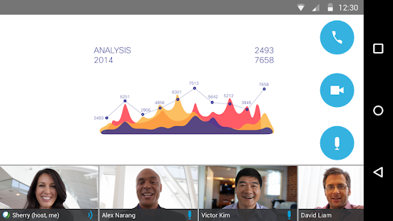 Cisco WebEx Meetings Screenshot