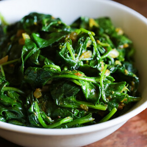 Indian Spiced Spinach