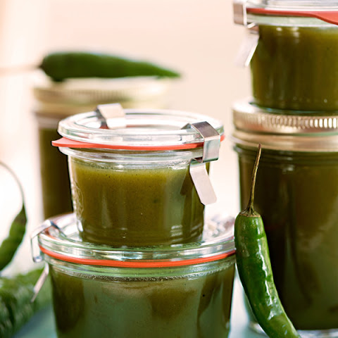 Sweet Green Curry Jam