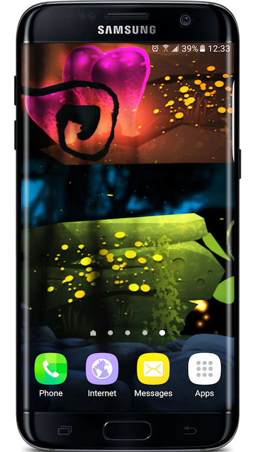 Firefly Jungle II LWP Screenshot 0