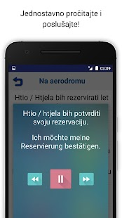 Nauči Njemački Audio lekcije Screenshot