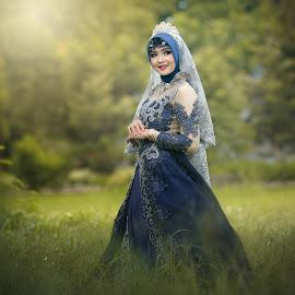 Indonesian hijab by Rahmat  Fiqih - Uncategorized All Uncategorized ( potrait, indonesian, beauty, hijab, women )