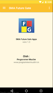 SMA Future Gate - screenshot