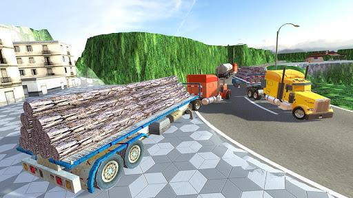 Uphill Cargo Truck Driving 3D - screenshot