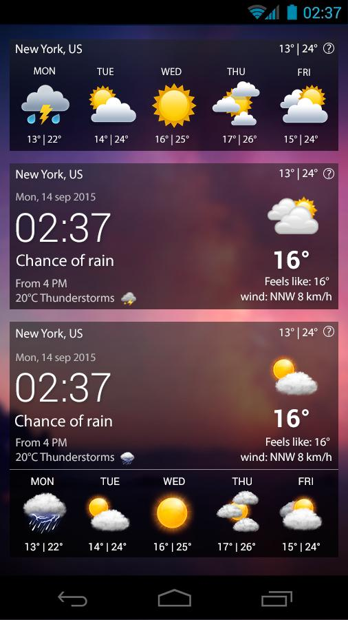 Weather XL PRO Screenshot 5