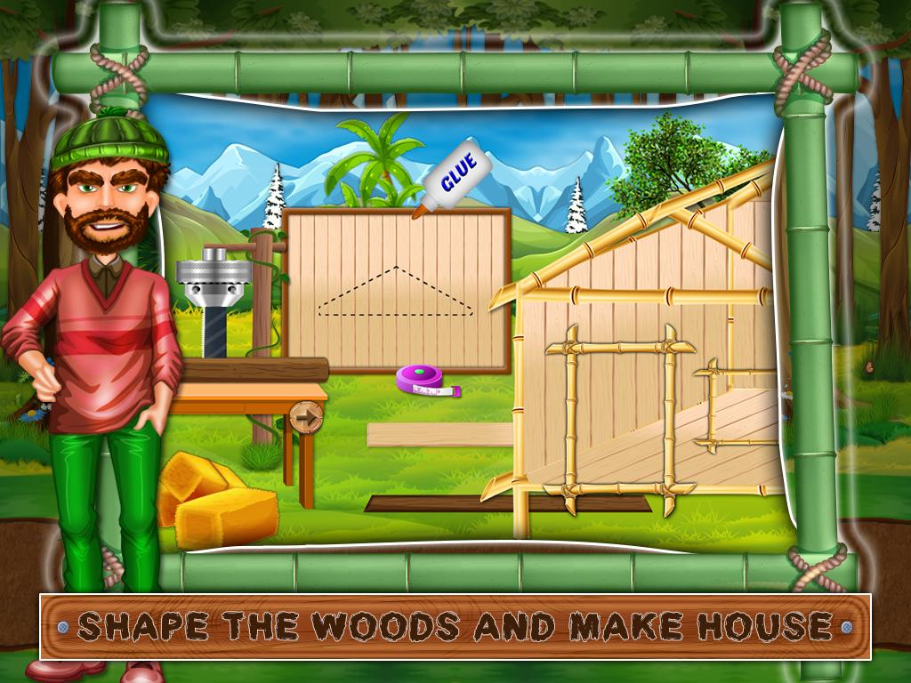 Town Tree House Building Game Screenshot