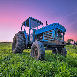 long exposure tractor by Mark Vause - Transportation Other