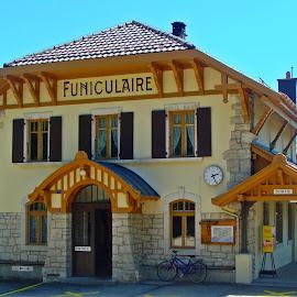 Chaumont Funiculaire by Cătălin Ivaşcu - Buildings & Architecture Public & Historical