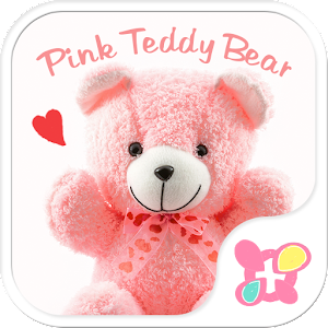 Cute wallpaper-Pink Teddy Bear