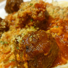 Spaghetti and Meatballs by Jo-Ann Tan - Food & Drink Meats & Cheeses