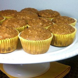 Whole Wheat Banana Oatmeal Muffins Applesauce Recipes