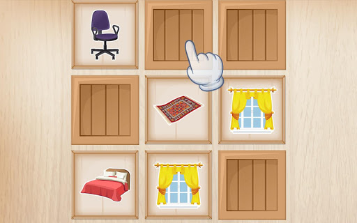 Furniture Puzzle for kids