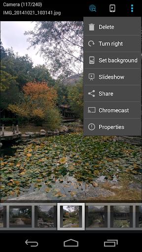 ES Chromecast plugin screenshot 1