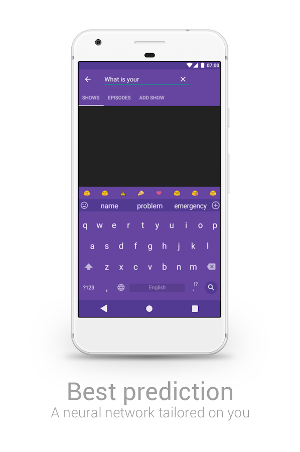 Chrooma GIF Keyboard Screenshot 3