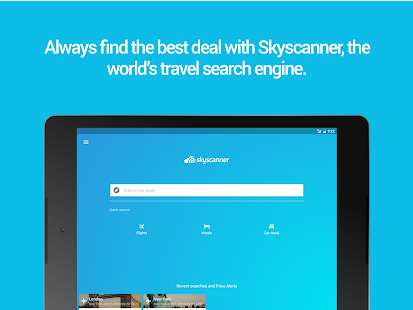 Skyscanner Flights, Hotel, Car for Lollipop - Android 5.0