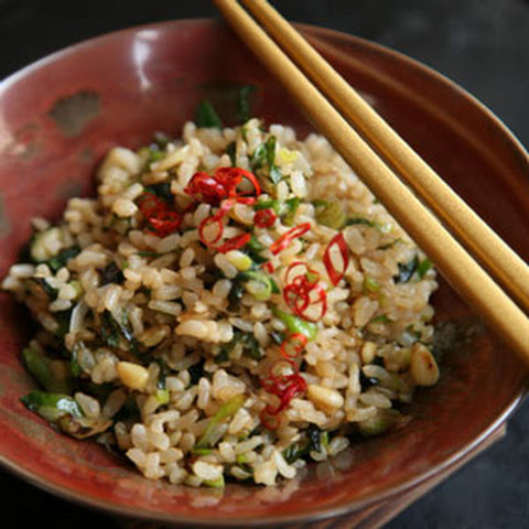 Japanese-Style Fried Brown Rice