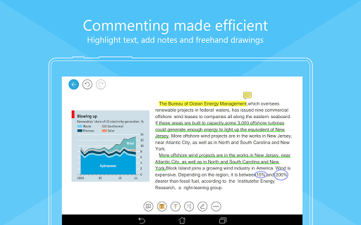 Foxit MobilePDF - PDF Reader - screenshot