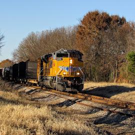 Afternoon Express by Rick Covert - Transportation Trains ( railroad, locomotive, arkansas, railroad tracks, arkansas photographer, trains )
