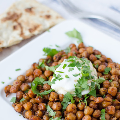 Quick Indian Chickpeas