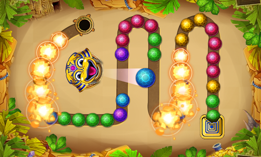 Epic quest - Marble lines - Marbles shooter Screenshot