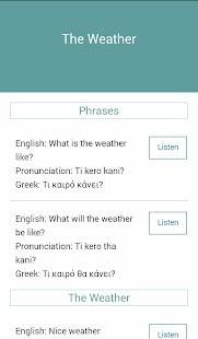 Lernen Sie Griechisch android apps download