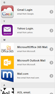 All Emails Provider - screenshot