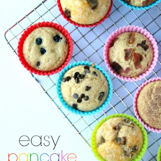Easy Baked Pancake Muffins