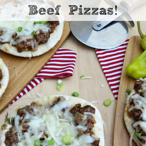 Mini Beef Barbecue Pizzas | Fun To Make With The Kids!
