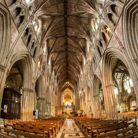 Worcester Cathedral. by Simon Page - Buildings & Architecture Places of Worship