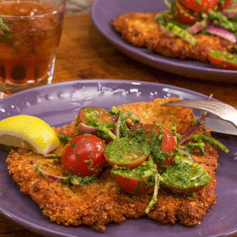 Chicken Milanese, Everything-Style