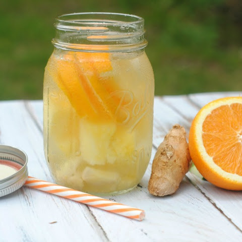 Pineapple Orange Ginger Infused Water