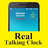 Real Talking Clock APK for Bluestacks