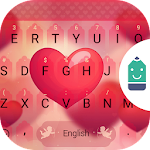 Sweet Heart Theme Keyboard Icon