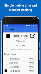 Hubstaff - Time Tracking & GPS - screenshot