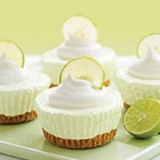 No Bake Key Lime Cream Cakes