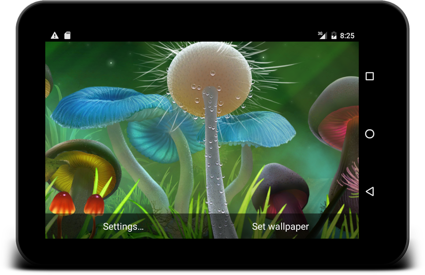 Nature live wallpaper Screenshot 12