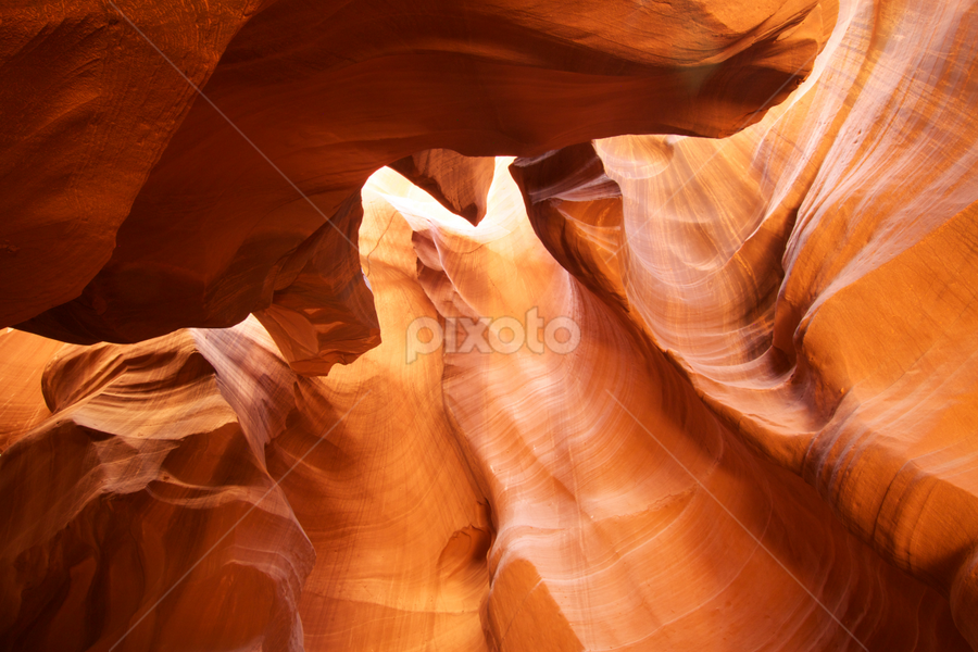 Monument Valley in Antelope Canyon by Stephan Guenot - Landscapes Caves & Formations ( antelope canyon slot canyon arizona page )