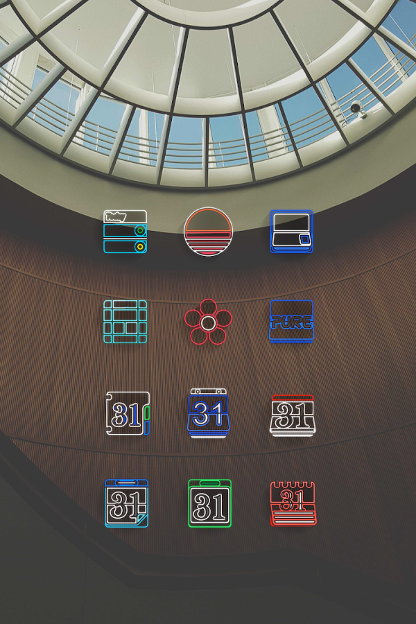 Laser Beam Icon Pack Screenshot 16