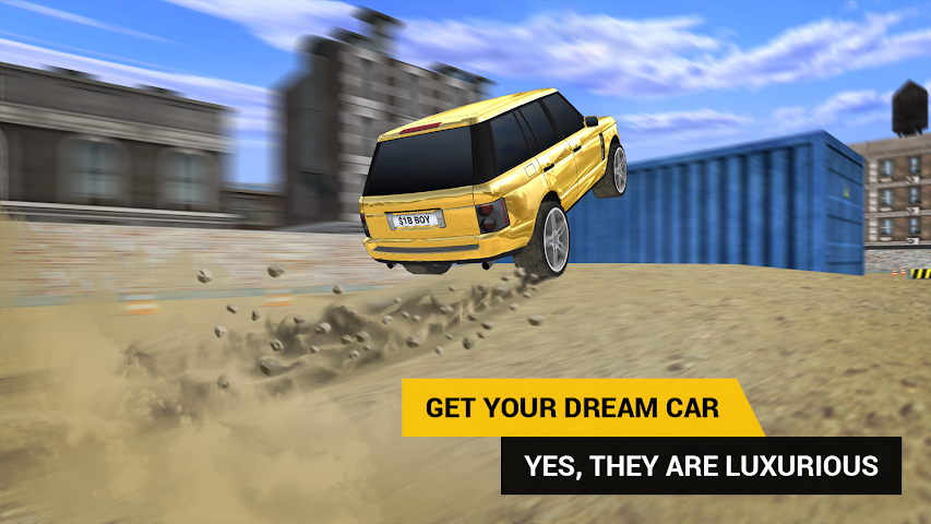 android PARKING JEU SUV Screenshot 6